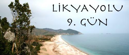Likya Yolu 9.Gün ( Adrasan – Antalya )