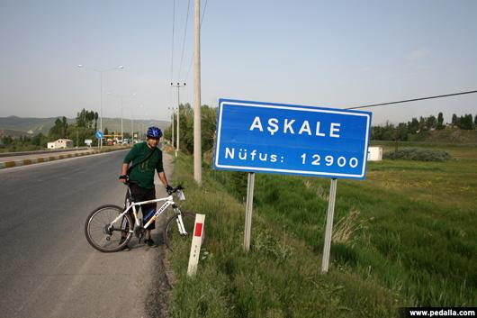 Erzurum'dan Erzincan'a Bisiklet Turu