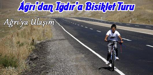 Ağrı'dan Iğdır'a Bisiklet Turu ( Ağrı'ya Ulaşım )