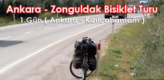 Ankara – Zonguldak Bisiklet Turu 1.Gün ( Ankara- Kızılcahamam )