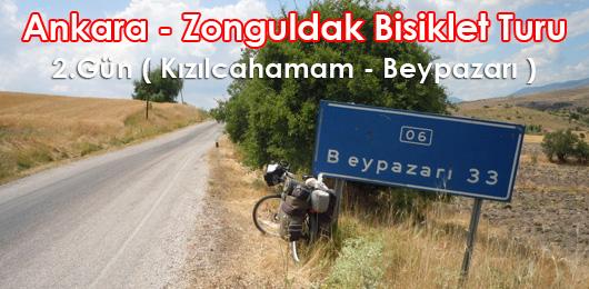 Ankara – Zonguldak Bisiklet Turu 2.Gün ( Kızılcahamam – Beypazarı )