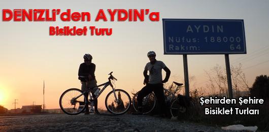 Denizli'den Aydın'a Bisiklet Turu
