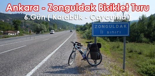 Ankara – Zonguldak Bisiklet Turu 6.Gün ( Karabük – Çaycuma )