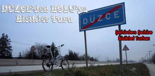 Düzce'den Bolu'ya Bisiklet Turu