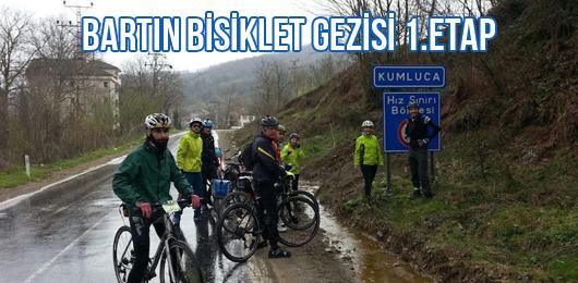 Bartın Bisiklet Gezisi 1.Etap
