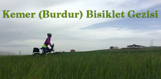 Kemer (Burdur) Bisiklet Gezisi