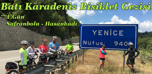 Batı Karadeniz Bisiklet Gezisi 1.Gün (Safranbolu – Hasankadı)