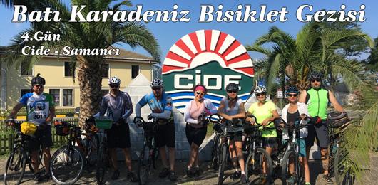 Batı Karadeniz Bisiklet Gezisi 4.Gün (Cide – Samancı)