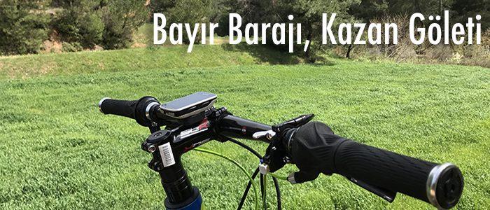 Bayır Barajı, Kazan Göleti Dağ Bisiklet Turu