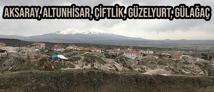 Aksaray, Altunhisar, Çiftlik, Güzelyurt, Gülağaç Bisiklet Turu