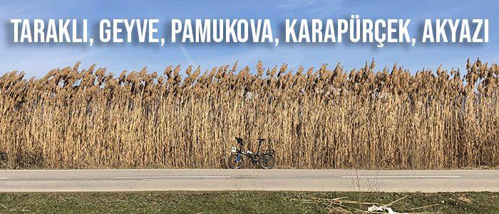 Taraklı, Geyve, Pamukova, Karapürçek, Akyazı, Sakarya Bisiklet Turu