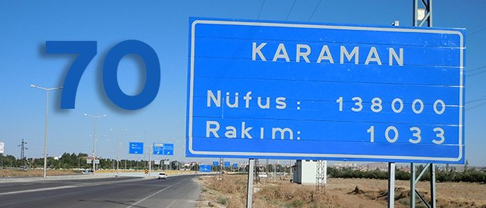 70 – Karaman