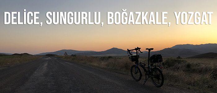Delice, Sungurlu, Boğazkale, Hattuşa, Yozgat Bisiklet Turu