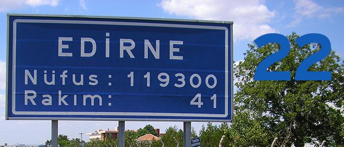 22 – Edirne